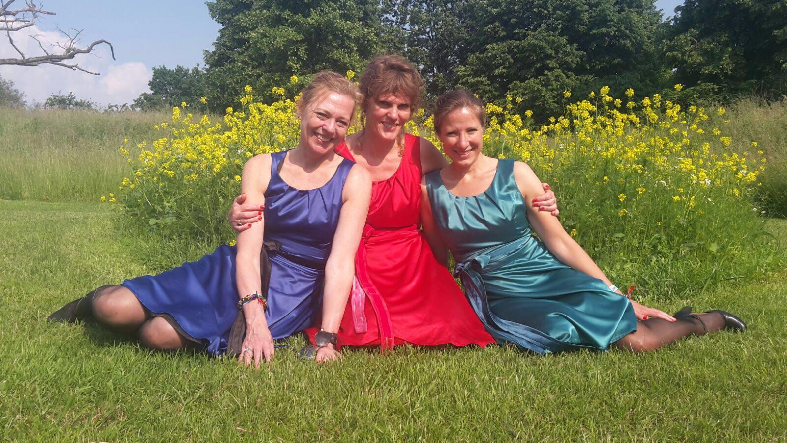 Groepsfoto trio Bel Ami