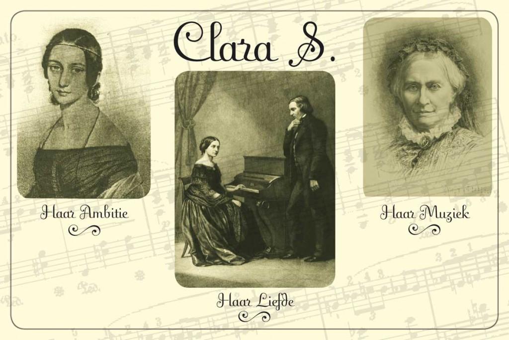 flyer voorstelling Clara S