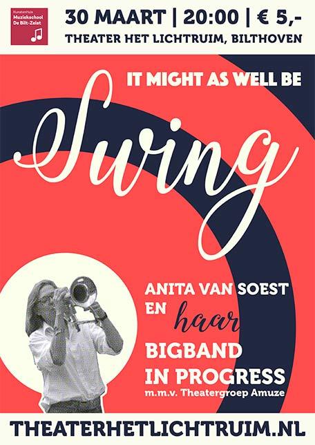 Poster optreden Swing